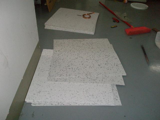 防静电地板施工现场