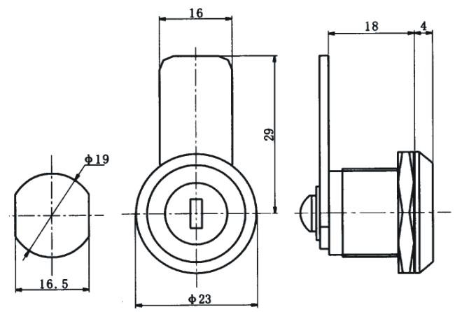 机械门锁-海坦柜锁ms805-2圆柱锁-机械门锁尽在-陈