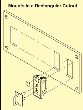 SJP标准的连接器面板