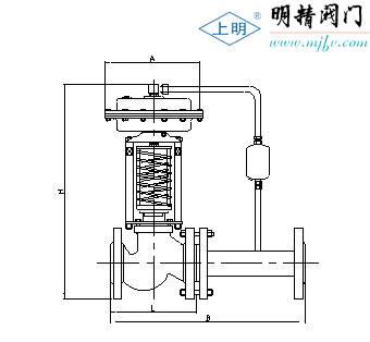 zzy蒸汽型自力式压力控制调节阀 zcs-10图片