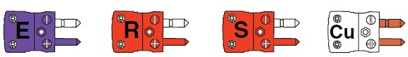 热电偶插头插座分度号色标方法