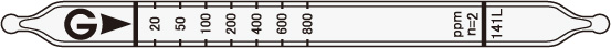 醋酸乙酯检测管141L Ethyl acetate
