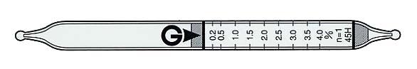 硫化氢+二氧化硫气体检测管 45H