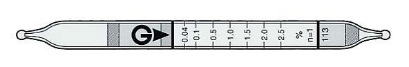 异丙醇检测管113 Isopropyl alcohol