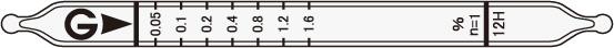 氰化氢检测管12H  Hydrogen cyanide