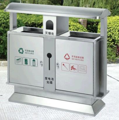 展宏信 生产优质不锈钢垃圾桶