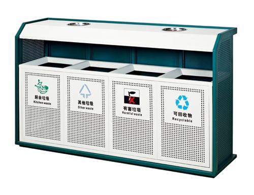 四星环保垃圾桶 四分类环保垃圾桶图片