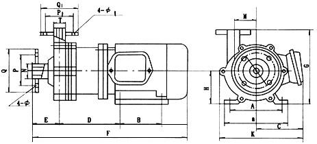 磁力化工泵