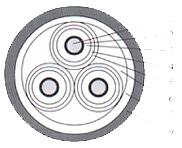 聚乙烯绝缘聚氯乙烯护套电力电缆35KV以下电缆