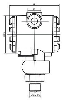 CS20FB型壓力變送器
