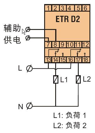 循环时间继电器1