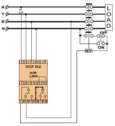 欠/过电压继电器
