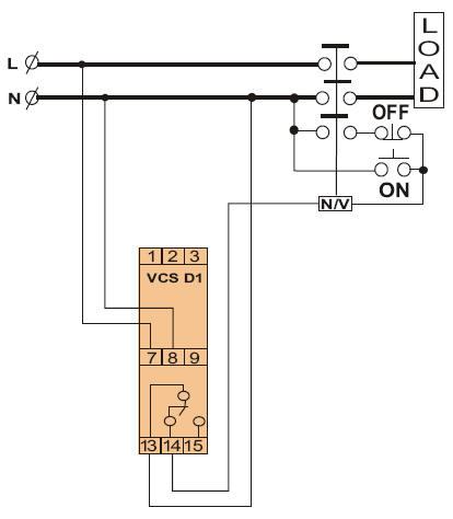 单相电压监视继电器