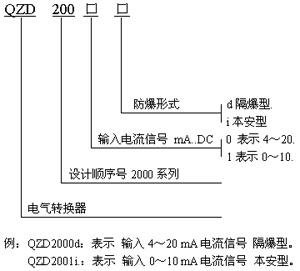 QZD-2000电气转换器