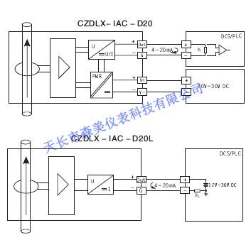CZDLX系列穿孔式交流电量变送器 电流互感器图片