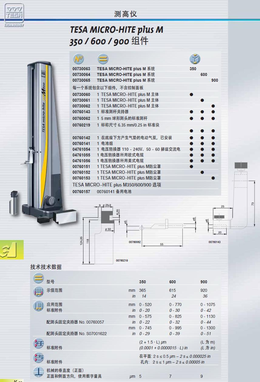 350/600/900测高仪