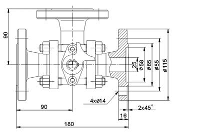 节能型焦炉专用系列球阀