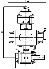 高壓螺紋球閥
