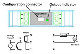台湾巨诺(VERTEX)微电脑可调型隔离式传送器