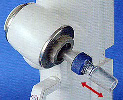 Movable rotary joint