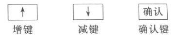 图1  按键示意图