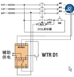 PTC电机热敏电阻保护继电器