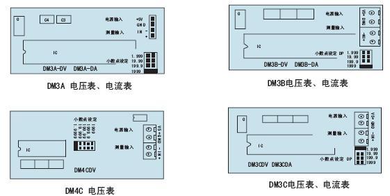 电流面板表|东崎toky5v供电面板表|dm-da数字直流电流面板表头 接线图