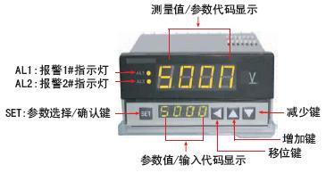 DL8-A真有效值数显交直流电流表头|数字交直流电流表头 接线图-东图片