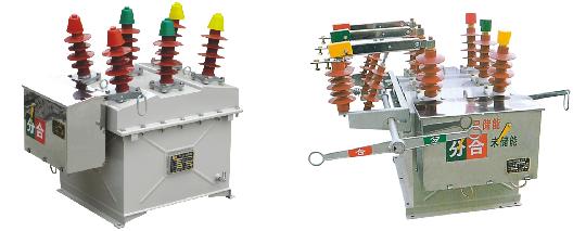 概述: ZW8-12系列户外高压真空断路器为额定电压12kV,三相交流50Hz的高压户外开关设备,主要用来开断关合农网、城网和小型电力系统的负荷电流、过载电流、短路电流。该产品总体结构为三相共箱式,三相真空灭弧室置于金属箱内,利用SMC绝缘材料相间绝缘及对地绝 缘,性能可靠,绝缘强度高。 ZW8-12G是由ZW8-12断路器与隔离刀组合而成的,称为组合断路器,可作为分段开关使用。 本系列产品的操动机构为CT23型弹簧储能操动机构,分为电动和手动而成。
