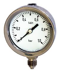 波波登管压力表EN 837-1系列BA41./BA44