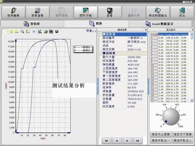 万能材料试验机测试软件