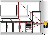 激光标线仪 红外线水平仪