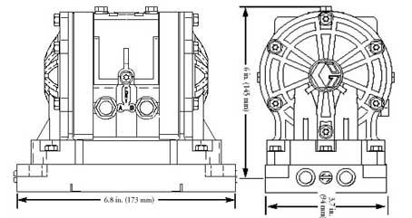 美国HUSKY气动隔膜泵