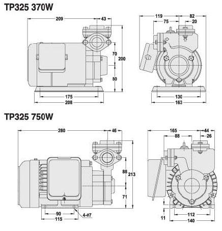 家用泵浦|TP3 系列
