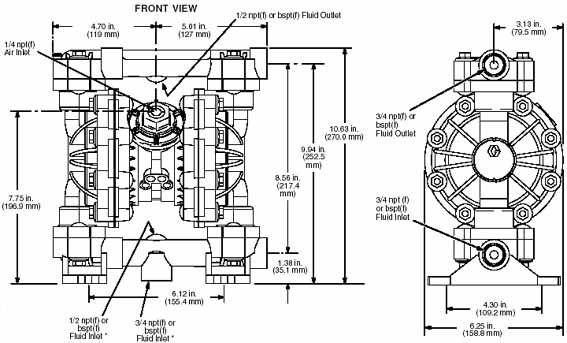 HUSKY716金属泵