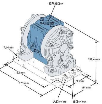 VA8系列塑料泵