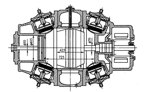 上海佩恩内之活塞压缩机气缸冷却 如图所示轴铁气缸  冷却气缸的目的是为了改善气缸壁面的润滑条件和气阀的工作条件,消除活塞环的烧结现象,使气缸壁面温度均匀,减小气缸变形。 风冷气缸依靠气缸壁加散热片来冷却,环形布置的气缸刚性较差,但冷却较均匀;而纵向布置的气缸刚性好,但冷却不均匀,背风面的冷却效果较差。通常采用环向布置的散热片。 在水冷气缸中应特别注意气阀的冷却,一方面要使气阀充分地冷却,另一方面将吸气腔和排气腔隔开,以保证气缸有较高的吸气系数。 铸铁气缸的水套可以直接铸出,但应注意清砂和清洗水道,所以应有