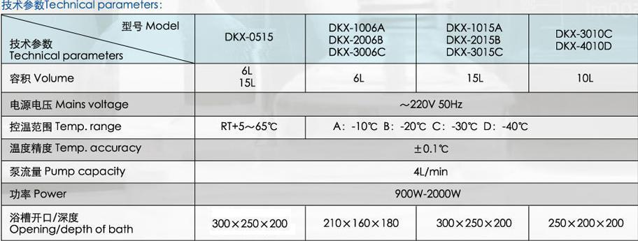 低温循环恒温槽DKX-4010