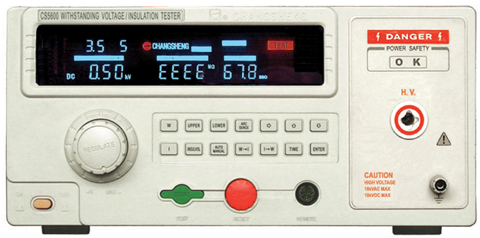 CS5600自动耐压绝缘测试仪