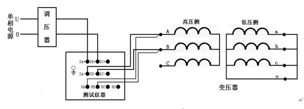 分相变压器接线方式图解