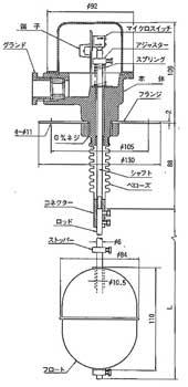 日本能研NOHKEN浮子液位计FS-2S