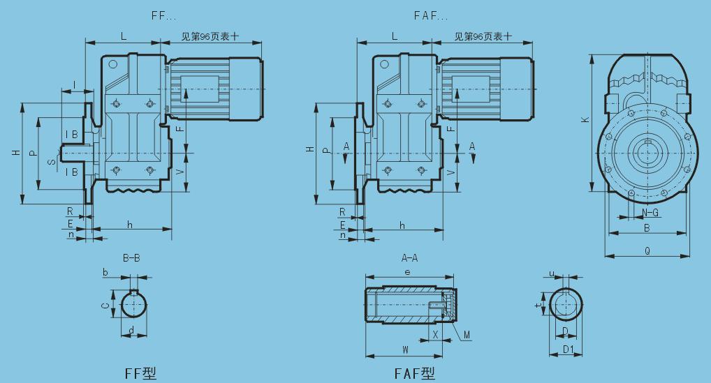 F系列平行軸斜齒輪減速機