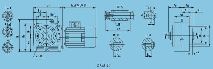 S系列齒輪-蝸桿減速機