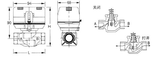 风机盘管电动阀