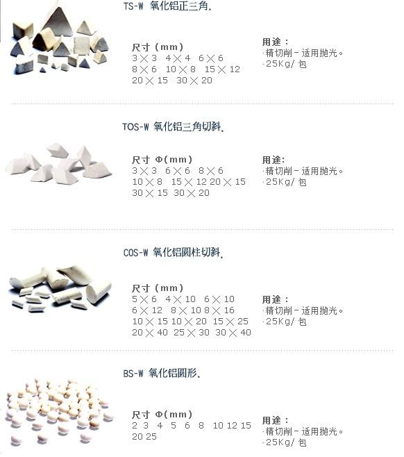 抛光石,高铝瓷,高频瓷,氧化铝研磨石