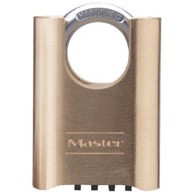 Master Lock 177D 2-Inch Shrouded Set-Your-Own Combination Padlock