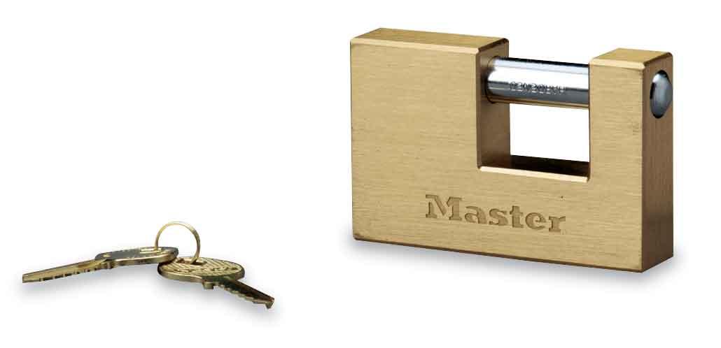 横开铜安全挂锁
