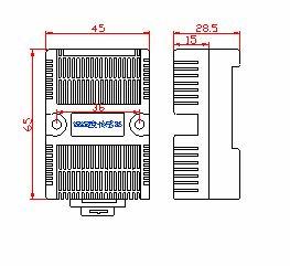 导轨型温湿度传感器