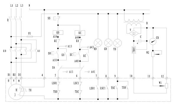 dkx型电动阀门控制箱图片