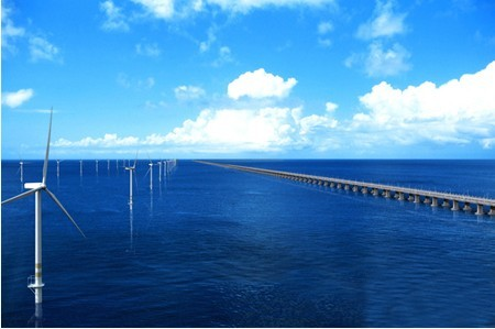 上海东海大桥100兆瓦海上风电场